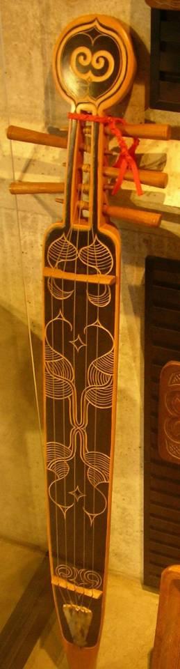 Japanese Instrument Tonkori