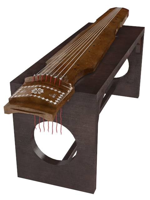 chinese instrument guqin