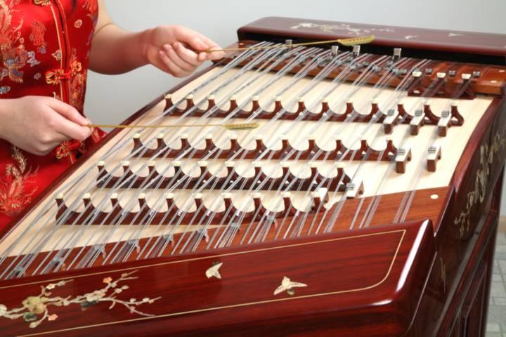 chinese instrument yangqin